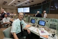 Apollo 50th Anniversary - Apollo 11 Flight Controllers Reunion in MOCR.  Photo Date: July 20, 2019.  Location: Building 30 - Apollo MOCR.  Photographers: Robert Markowitz & Bill Stafford.