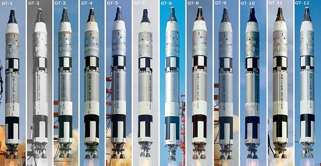 All 12 Gemini Launches