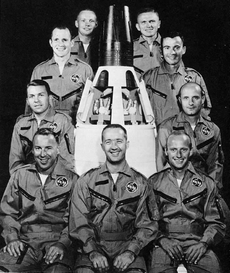 "The ""New Nine"" NASA Astronauts"