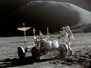 Apollo 15 Lunar Rover with Jim Irwin