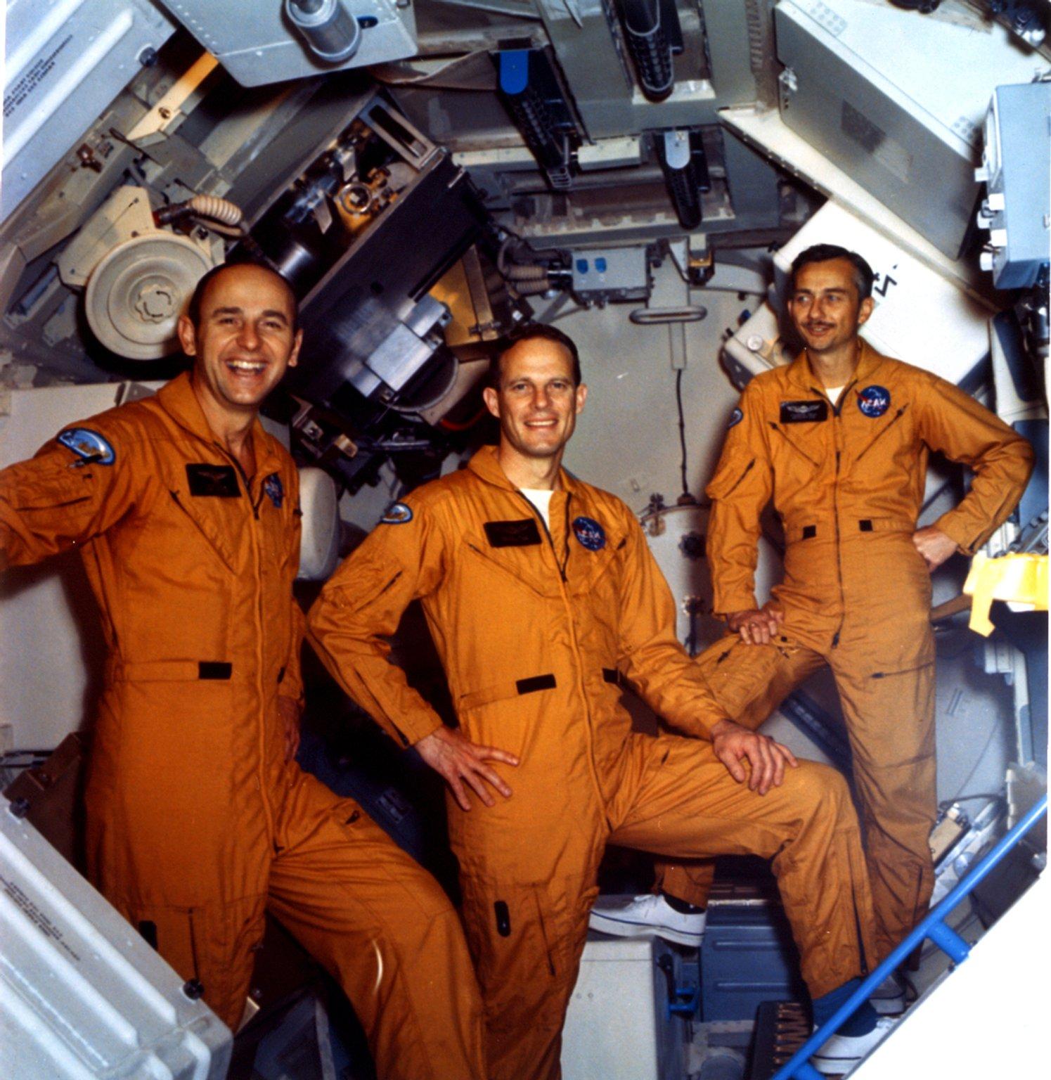 Skylab 3 crew